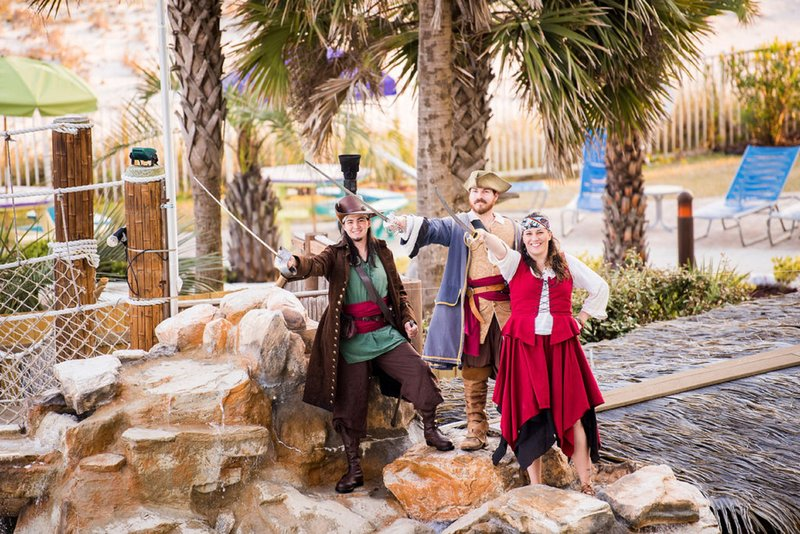 Holiday Inn Resort Pensacola Beach Gulf Front-Pirate time at the Resort<br/>Image from Leonardo