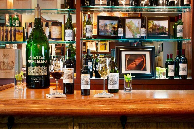 The Westin St. Francis - Chateau Montelena Tasting Room - Wines <br/>Image from Leonardo