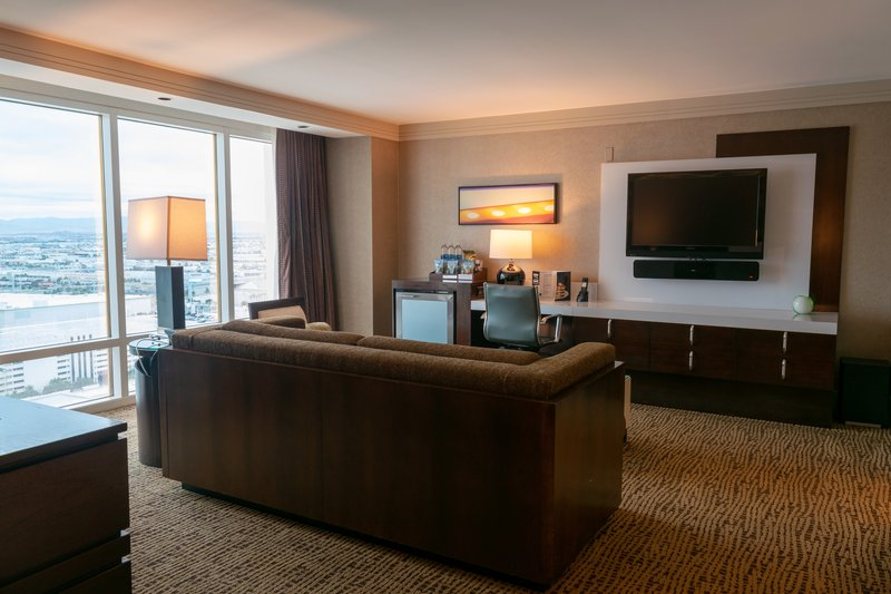 The Mirage Hotel and Casino - Mirage Suite Living Room <br/>Image from Leonardo