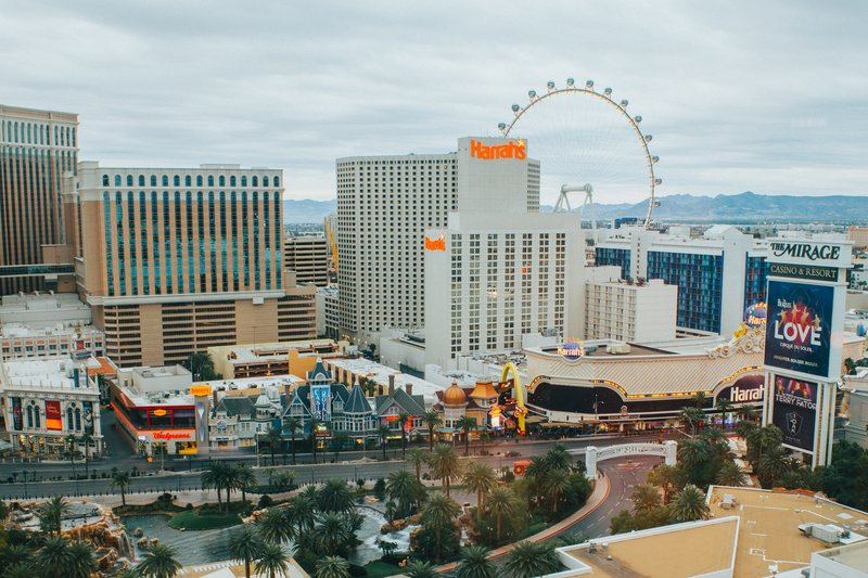 The Mirage Hotel and Casino - Strip View Daytime <br/>Image from Leonardo