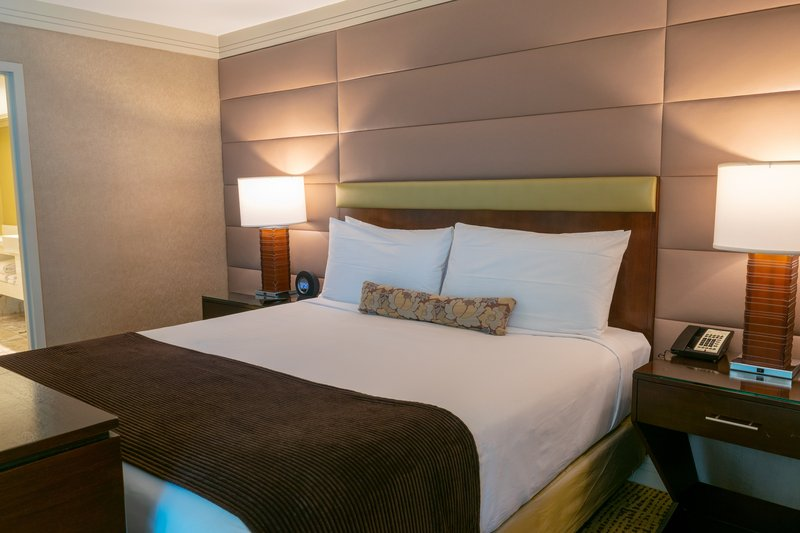 The Mirage Hotel and Casino - Mirage Suite Bedroom <br/>Image from Leonardo