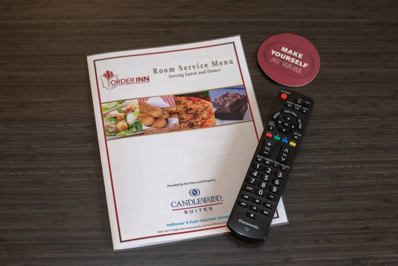 Candlewood Suites Pittsburgh-Airport-OrderINN if you don't want to go out or cook in your suite.<br/>Image from Leonardo