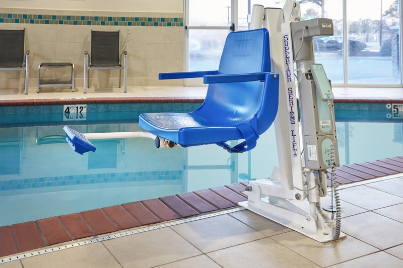Holiday Inn Express Hampton - Coliseum Central-ADA/Handicapped accessible Swimming Pool Lift<br/>Image from Leonardo