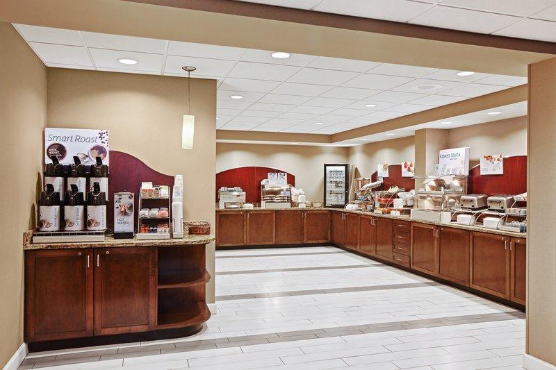 Holiday Inn Express Hampton - Coliseum Central-Breakfast Bar<br/>Image from Leonardo