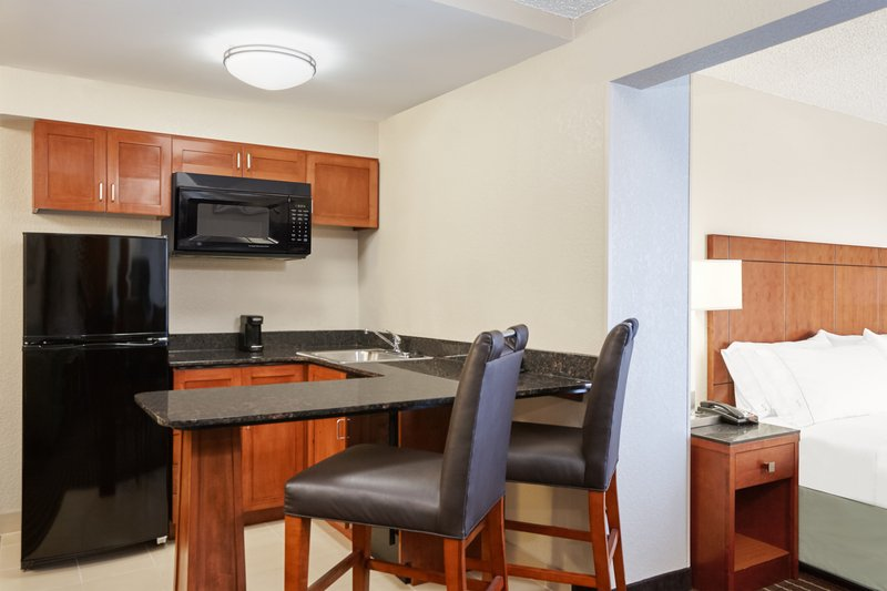 Holiday Inn Express Hampton - Coliseum Central-King Suite Kitchen<br/>Image from Leonardo