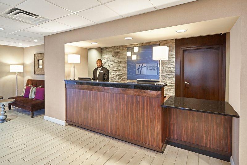 Holiday Inn Express Hampton - Coliseum Central-Front Desk<br/>Image from Leonardo