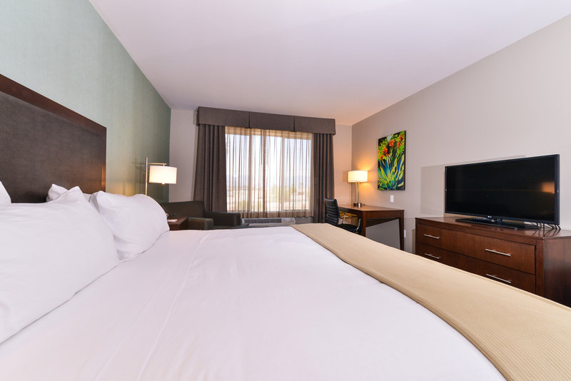 Holiday Inn Express & Suites Indio-Spacious King Bed Guest Room<br/>Image from Leonardo