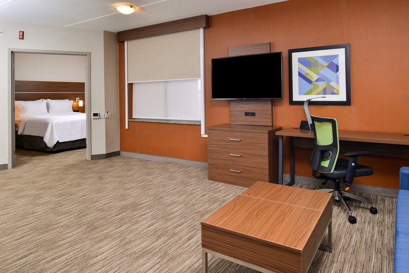 Holiday Inn Express & Suites Buffalo Downtown-Queen ADA suite<br/>Image from Leonardo