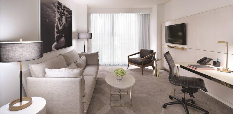 Delano Las Vegas at Mandalay Bay-Delano King Suite Room<br/>Image from Leonardo