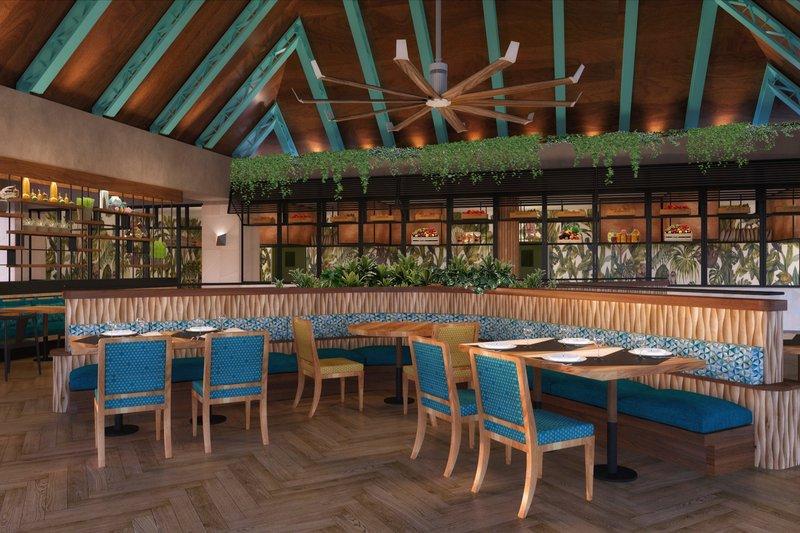 Hilton La Romana, an All Inclusive Adult Rst - Hilton La Romana Adults Buffet Interior <br/>Image from Leonardo