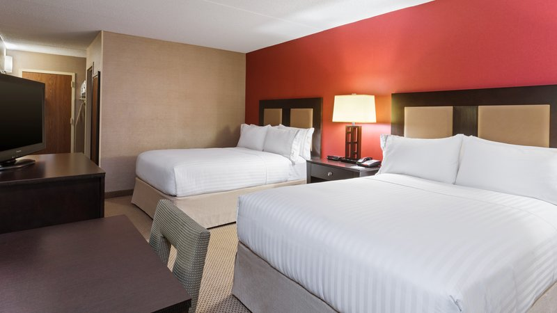 Holiday Inn Express Charleston - Civic Center-Double Bed Guest Room<br/>Image from Leonardo