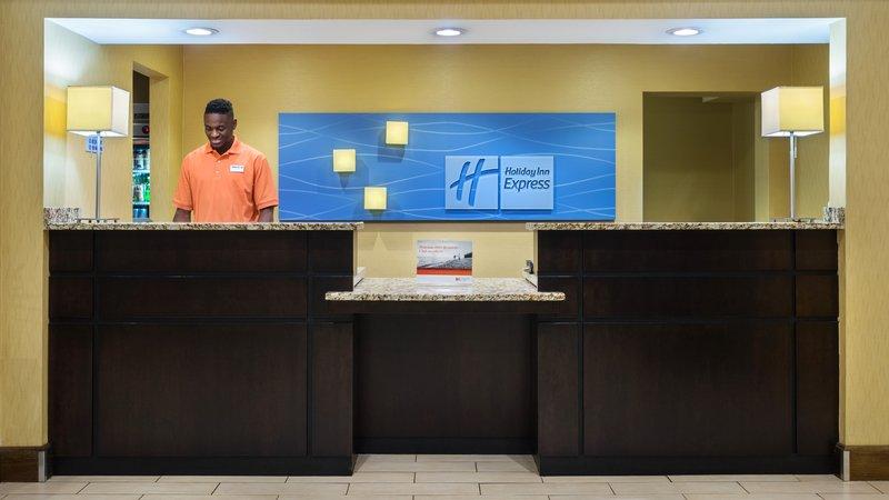 Holiday Inn Express Charleston - Civic Center-Front Desk<br/>Image from Leonardo