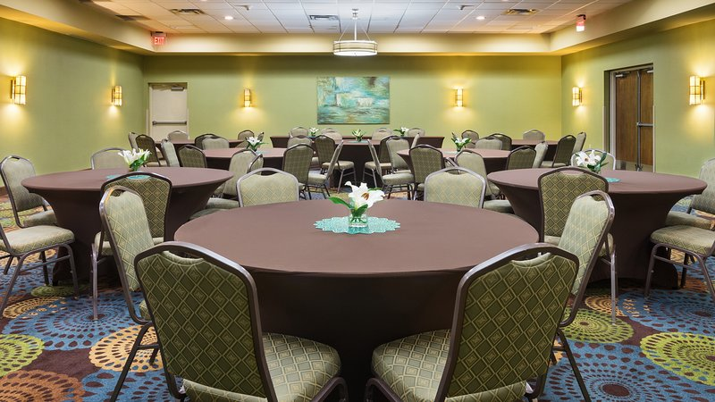 Holiday Inn Express Charleston - Civic Center-Meeting Room - Reception Setup<br/>Image from Leonardo