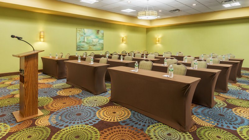 Holiday Inn Express Charleston - Civic Center-Meeting Room - Classroom Setup<br/>Image from Leonardo