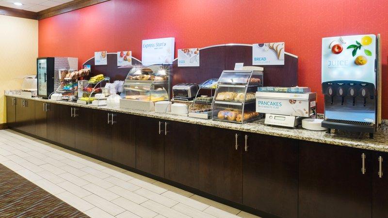 Holiday Inn Express Charleston - Civic Center-Breakfast Buffet<br/>Image from Leonardo
