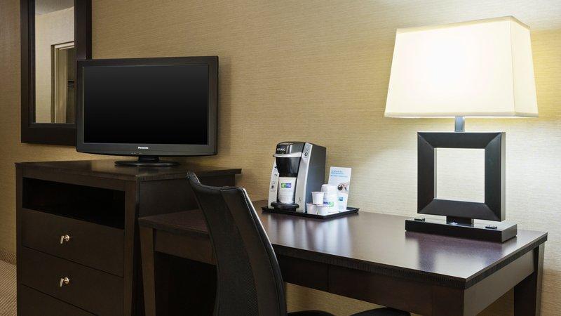 Holiday Inn Express Charleston - Civic Center-Guest Room Desk<br/>Image from Leonardo