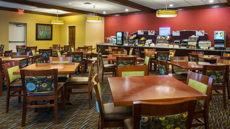 Holiday Inn Express Charleston - Civic Center-Breakfast Seating Area<br/>Image from Leonardo