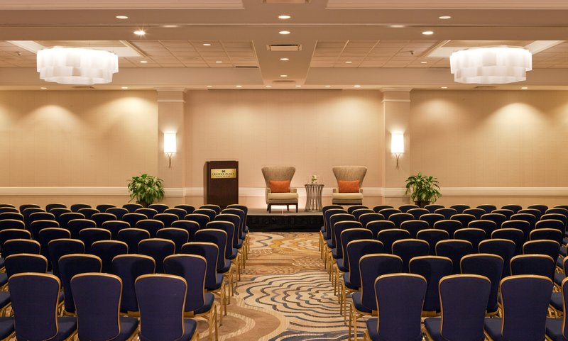 Crowne Plaza White Plains - Downtown-The Plaza Ballroom can accommodate meetings up to 800.<br/>Image from Leonardo