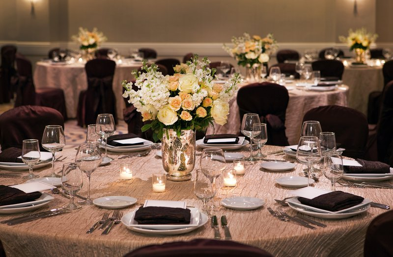 Crowne Plaza White Plains - Downtown-Make your event memorable in the Plaza Ballroom.<br/>Image from Leonardo