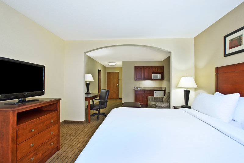 Holiday Inn Express & Suites East Lansing-Our king suite is preferred by business travelers<br/>Image from Leonardo