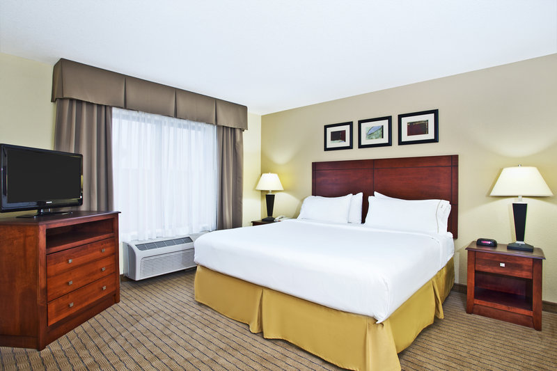 Holiday Inn Express & Suites East Lansing-Our very spacious king guestroom<br/>Image from Leonardo