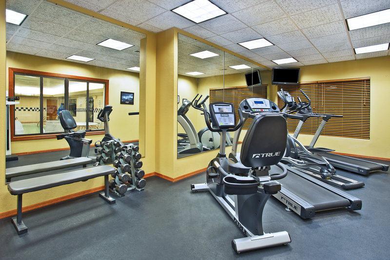 Holiday Inn Express & Suites East Lansing-Stay fit while traveling.<br/>Image from Leonardo