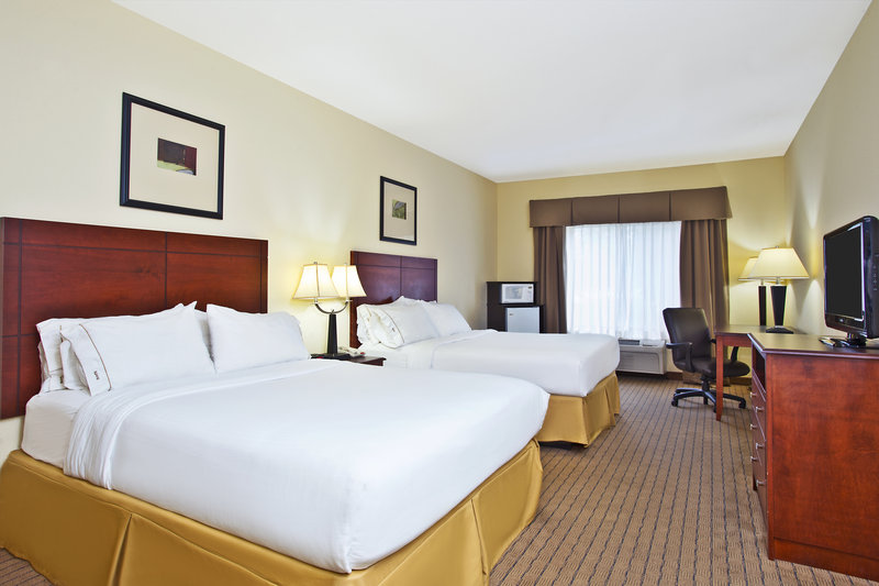 Holiday Inn Express & Suites East Lansing-Very spacious guestroom with two queen beds<br/>Image from Leonardo