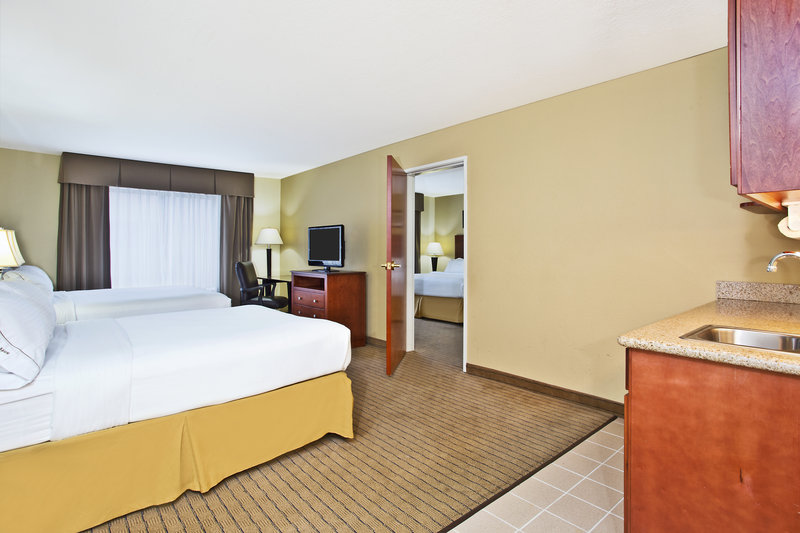 Holiday Inn Express & Suites East Lansing-Two room suite is perfect for large families<br/>Image from Leonardo
