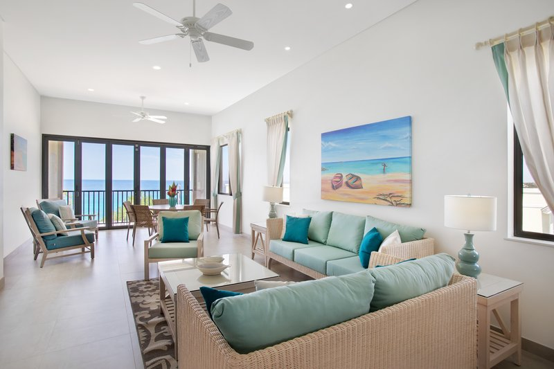 Beach View-Luxury Suite Living<br/>Image from Leonardo