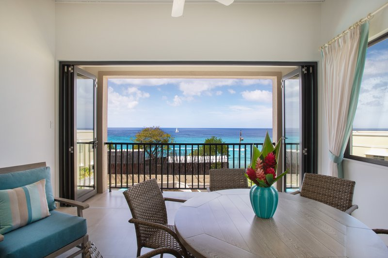 Beach View-Luxury Suite Patio<br/>Image from Leonardo