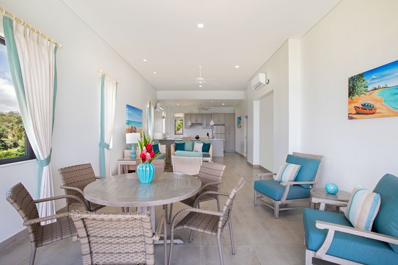 Beach View-Luxury Suite Living Dining<br/>Image from Leonardo