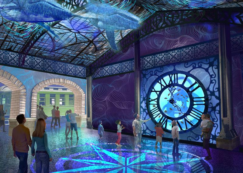 Crowne Plaza St. Louis Airport-St Louis Aquarium Opens Winter 2019<br/>Image from Leonardo