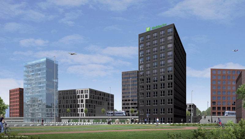 Holiday Inn Eindhoven Airport-Holiday Inn Eindhoven Airport Facade<br/>Image from Leonardo