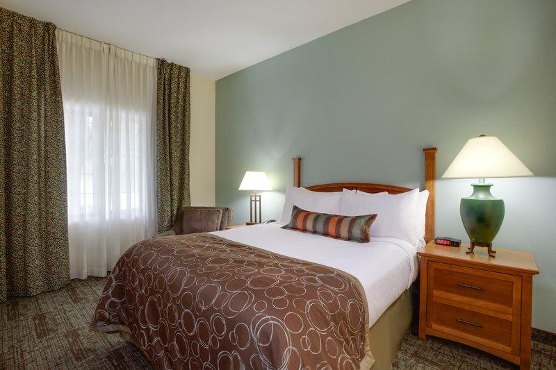 Staybridge Suites Corning-ADA/Handicapped accessible Bedroom<br/>Image from Leonardo