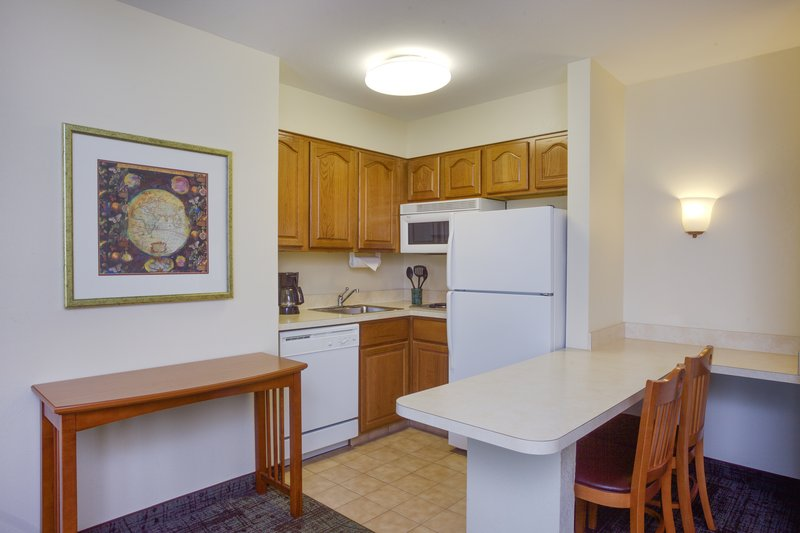 Staybridge Suites Corning-One Bedroom Suite kitchen<br/>Image from Leonardo