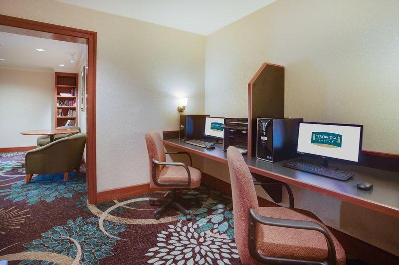 Staybridge Suites Corning-Business Center<br/>Image from Leonardo