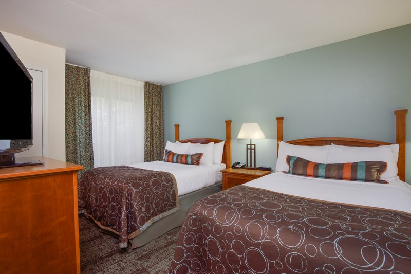 Staybridge Suites Corning-One Bedroom Suite with Two Double Bed Guest Room<br/>Image from Leonardo