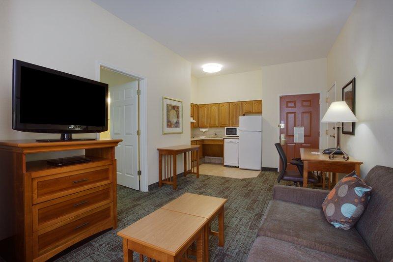 Staybridge Suites Corning-ADA/Handicapped accessible Suite kitchen<br/>Image from Leonardo