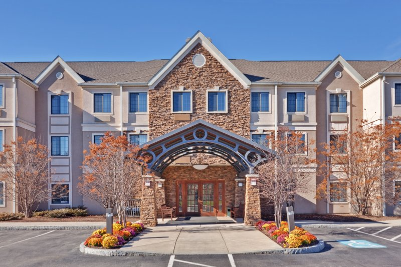 Staybridge Suites Corning-Front Entrance<br/>Image from Leonardo