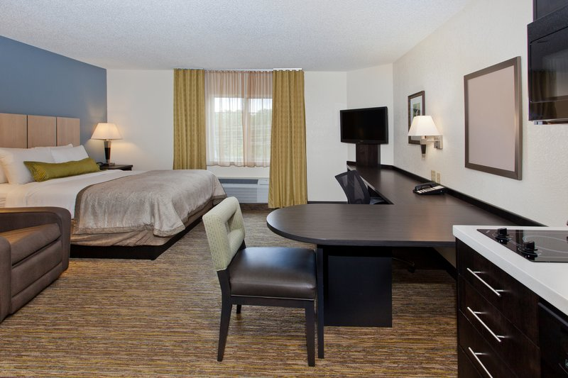 Candlewood Suites Denver West Federal Ctr-Spacious Studio Suite with Queen Bed and Workspace<br/>Image from Leonardo