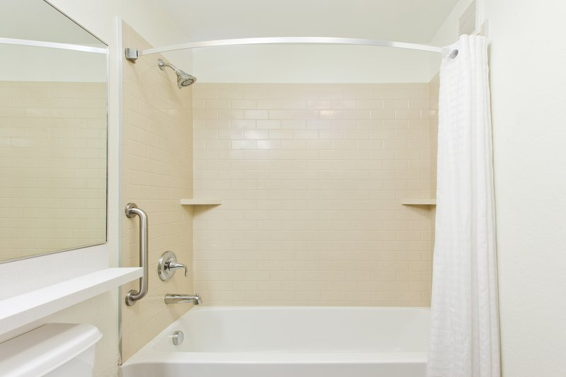 Candlewood Suites Denver West Federal Ctr-Guest Bathroom with Tub<br/>Image from Leonardo