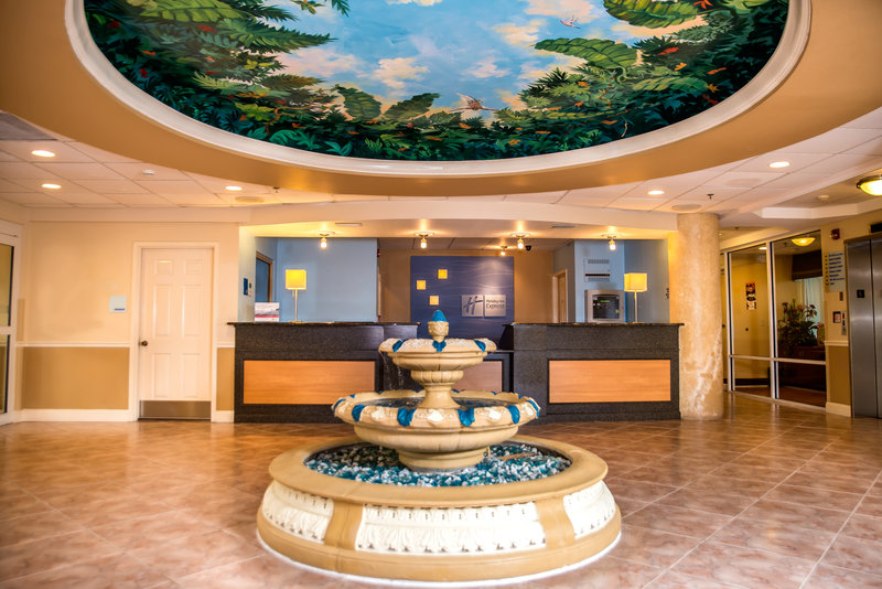 Holiday Inn Express & Suites Cocoa Beach-Hotel Lobby<br/>Image from Leonardo