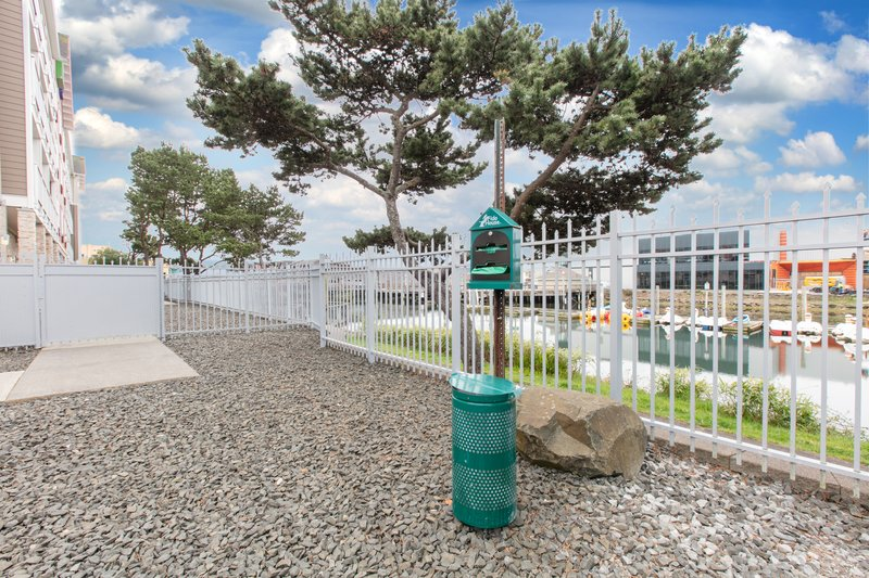 Holiday Inn Express & Suites Seaside - Convention Center-Pet Area <br/>Image from Leonardo