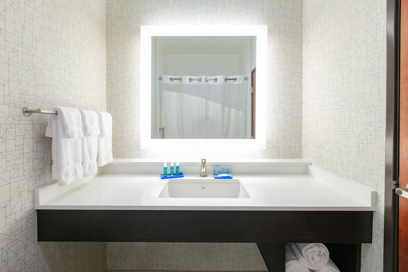 Holiday Inn Express & Suites Seaside - Convention Center-Guest Bathroom <br/>Image from Leonardo