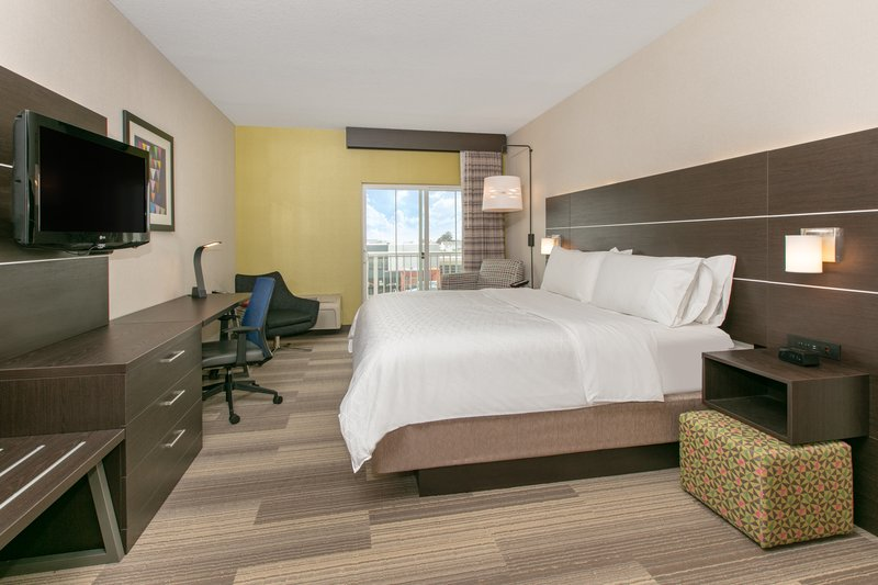 Holiday Inn Express & Suites Seaside - Convention Center-1 King Bed River View Balcony Nonsmoking <br/>Image from Leonardo