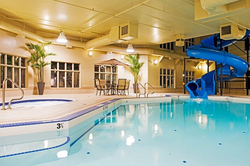 Holiday Inn Express & Suites Grande Prairie-Refreshing Swimming Pool<br/>Image from Leonardo