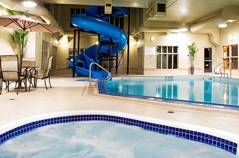 Holiday Inn Express & Suites Grande Prairie-Swimming Pool & Waterslide<br/>Image from Leonardo