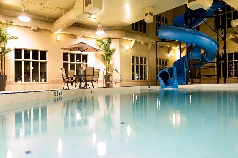 Holiday Inn Express & Suites Grande Prairie-Wonderful Swimming Pool<br/>Image from Leonardo