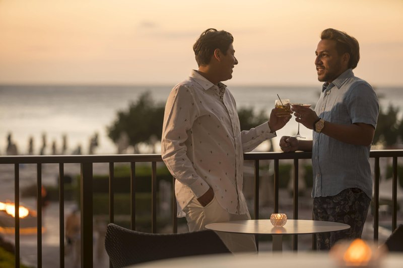 THE RITZ-CARLTON, ARUBA - Divi Sushi Bar & Lounge Outdoor Terrace <br/>Image from Leonardo