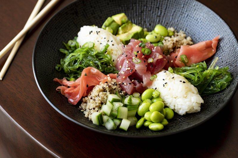 THE RITZ-CARLTON, ARUBA - Divi Sushi Bar & Lounge - Poke Bowl <br/>Image from Leonardo